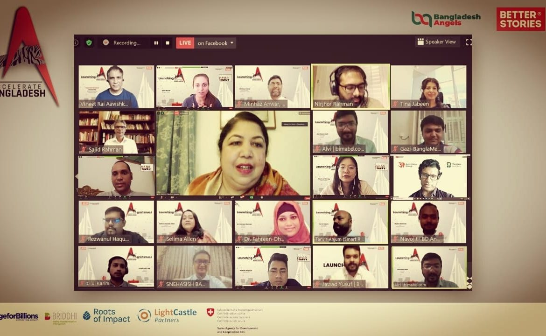 Launch of Accelerate Bangladesh by Bangladesh Angel Network | An Aavishkaar Capital initiative