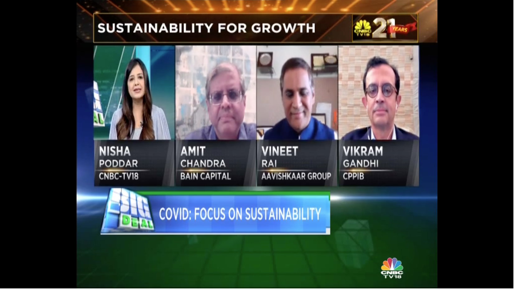 CNBC TV18 Episode of Big Deal with Vineet Rai - Featured